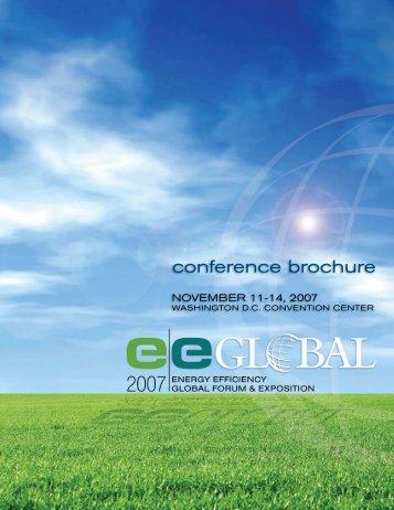 conference brochure - EE Global Forum