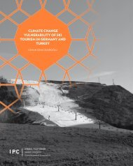 CLIMATE CHANGE VULNERABILITY OF SKI TOURISM IN GERMANY AND TURKEY