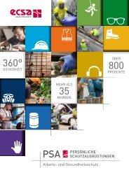 ECSA Maintenance - PSA Katalog
