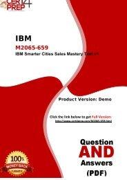 Cert4Prep M2065-659 Exam Preparation Material