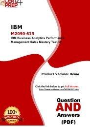 Cert4Prep M2090-615 Exam Preparation Material