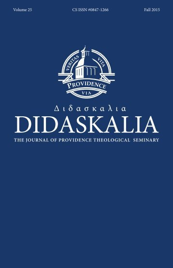 Didaskalia Vol 25