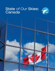 State of Our Skies Canada