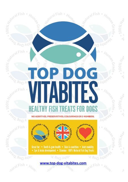 Become a Top Dog Vitabites Agent Now