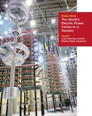 The World's Electric Power Centre Is in Sweden - Power Circle
