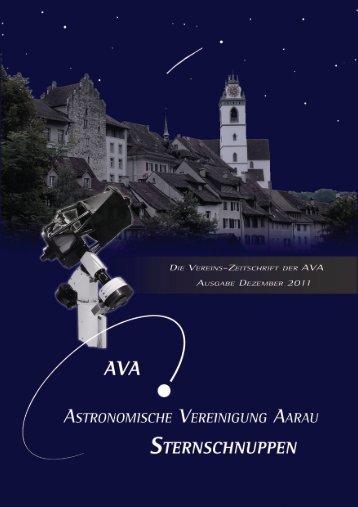 sternschnuppen - Astronomische Vereinigung Aarau