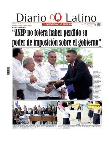 Edición 29 de Abril de 2016