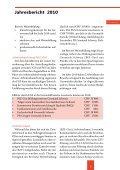 Jahresbericht 2010 - Fachleute Geomatik Schweiz - Seite 5