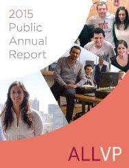 2015 Public Annual Report