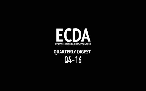 ECDA Report Q4 2016