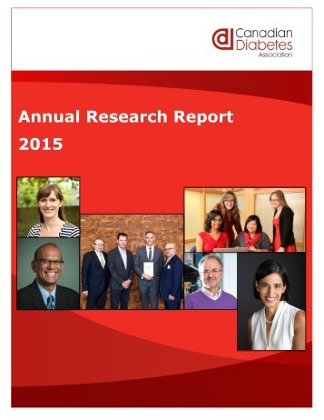 Annual Research Report 2015