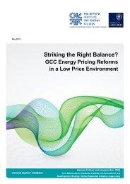 Striking the Right Balance?