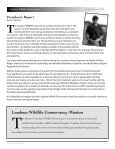 Loudoun Wildlife Conservancy 2010 Annual Report - Page 3