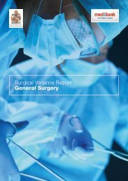 Surgical Variance Report General Surgery