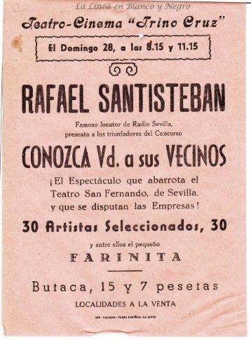 Rafael Santisteban - Conozca Ud a sus vecinos