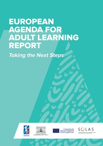 EUROPEAN AGENDA FOR ADULT LEARNING REPORT