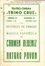 Recitales de Danzas - Carmen Albeniz