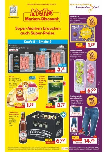 Netto Marken Discount Prospekt KW 18
