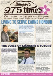 Mangere's 275 Times May 2016