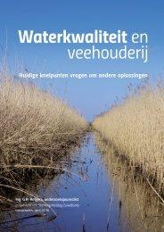 Waterkwaliteit en veehouderij