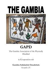 Gambia-Broschuere
