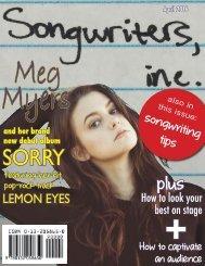 songwriters,inc. magazine