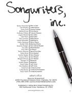 songwriters,inc.magWHOLEMAG - Page 3