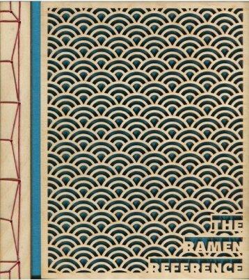 The Ramen Reference Web