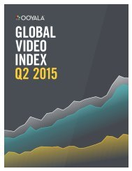 GLOBAL VIDEO INDEX Q2 2015