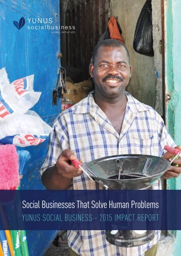 Social Businesses That Solve Human Problems