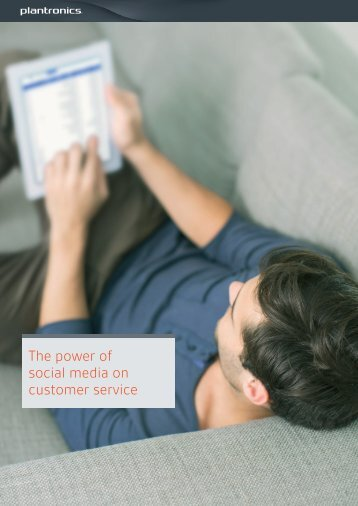The power of social media on customer service