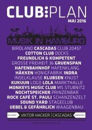 Clubplan Hamburg - Mai 2016