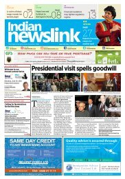 Indian Newslink May 1, 2016 Digital Edition