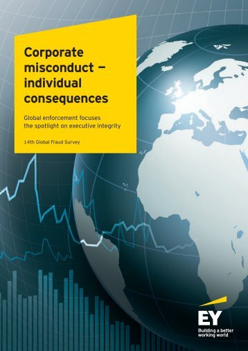 Corporate misconduct — individual consequences