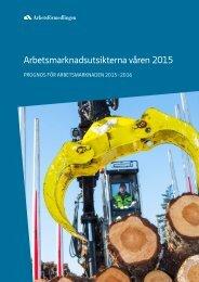 Arbetsmarknadsutsikterna våren 2015