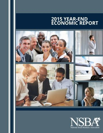 2015 YEAR-END ECONOMIC REPORT