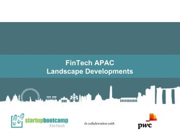 FinTech APAC Landscape Developments