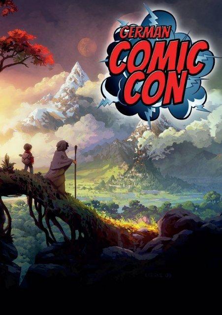 German Comic Con 2015 - Programmheft