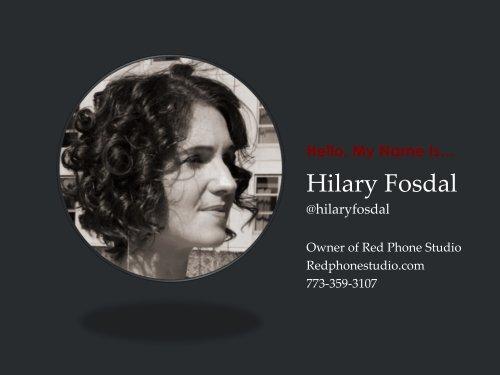 Hilary Fosdal