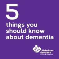 things you should know about dementia