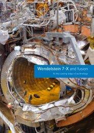 Wendelstein 7-X and fusion - Max-Planck-Institut für Plasmaphysik