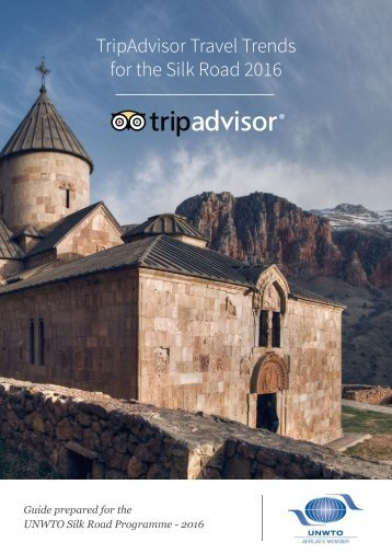 TripAdvisor Travel Trends for the Silk Road 2016