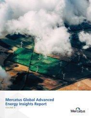 Mercatus Global Advanced Energy Insights Report