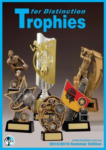 Trophies for Distinction - Summer 2015-16