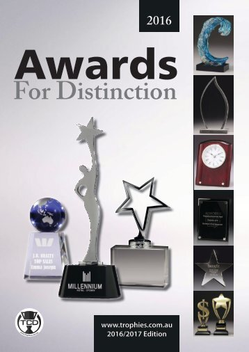 Corporate Awards for Distinction - 2016-17