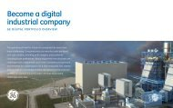 Become a digital industrial company