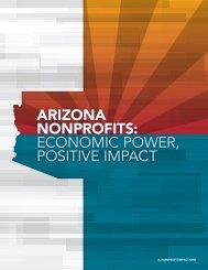 ARIZONA NONPROFITS ECONOMIC POWER POSITIVE IMPACT