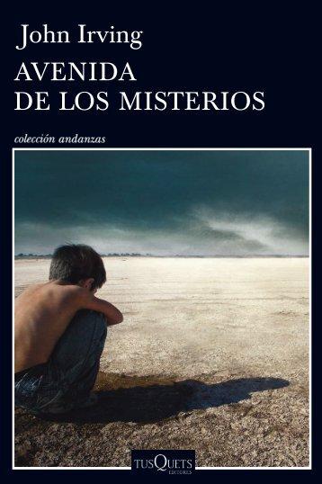 John Irving AVENIDA DE LOS MISTERIOS