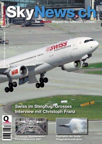 Grosses Interview Mit Christoph Franz - SkyNews.ch