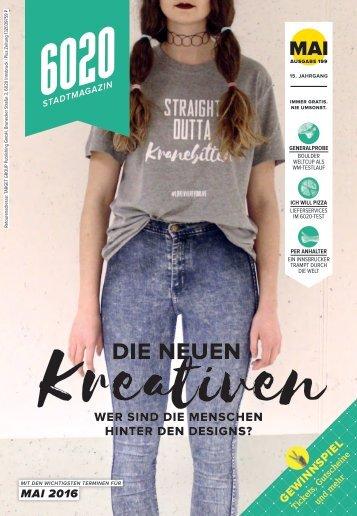 6020 Stadtmagazin - Mai 2016